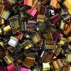 Miyuki Tila Beads 5X5mm 2 Hole Crystal Transparent Marea Costing